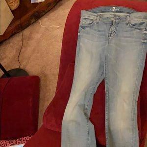 7FAM Denim Rocket style jeans 30